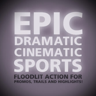 Epic Dramatic Cinematic Sports Back Cover