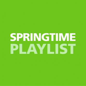 SPRINGTIME PLAYLIST Front Cover