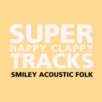Super Happy Clappy Tracks Back Cover
