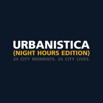 Urbanistica (Night Hours Edition) Back Cover