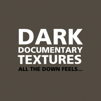Dark Documentary Textures Back Cover