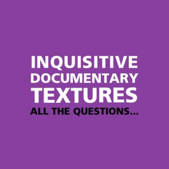 Inquisitive Documentary Textures Back Cover