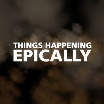 Things Happening Epically Front Cover