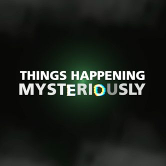 Things Happening Mysteriously Front Cover