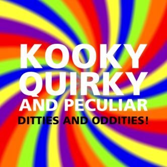 Kooky, Quirky and Peculiar Back Cover