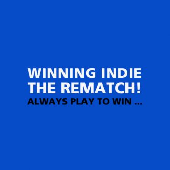 Winning Indie – The Rematch Back Cover