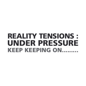 Reality Tensions : Under Pressure Back Cover