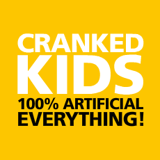 Cranked Kids Back Cover